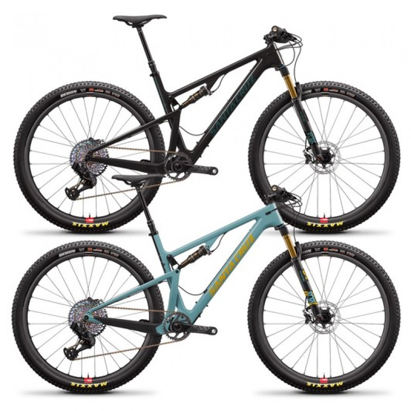 "Santa Cruz Blur Carbon CC XX1 TR Reserve 29"" Mountain Bike 2020"