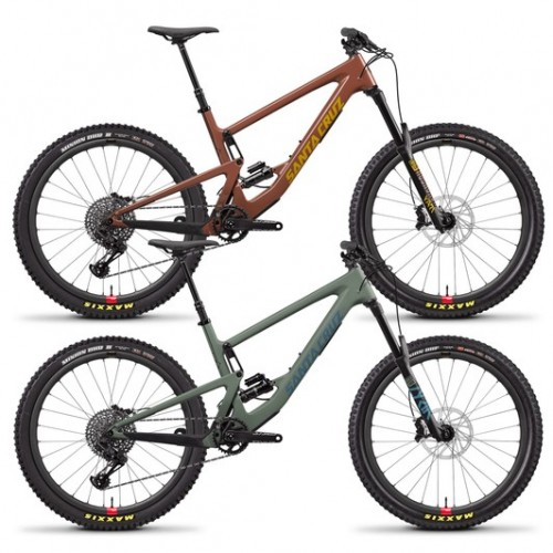 "Santa Cruz Bronson Carbon C S Reserve 27.5"" Mountain Bike 2020"