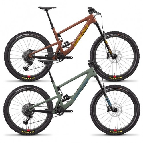 Santa Cruz Bronson Carbon C S Reserve 27.5+ Mountain Bike 2020
