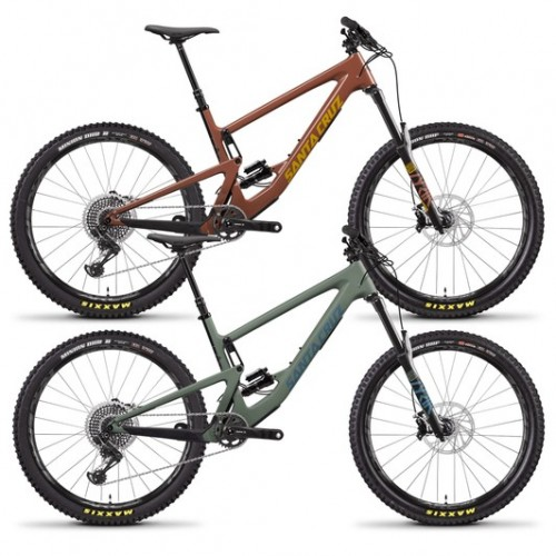 "Santa Cruz Bronson Carbon CC X01 27.5"" Mountain Bike 2020"