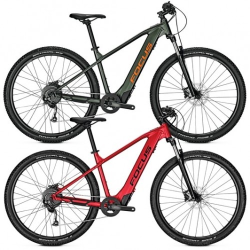 Focus Whistler2 6.9 Hardtail Electric Mountain Bike 2020