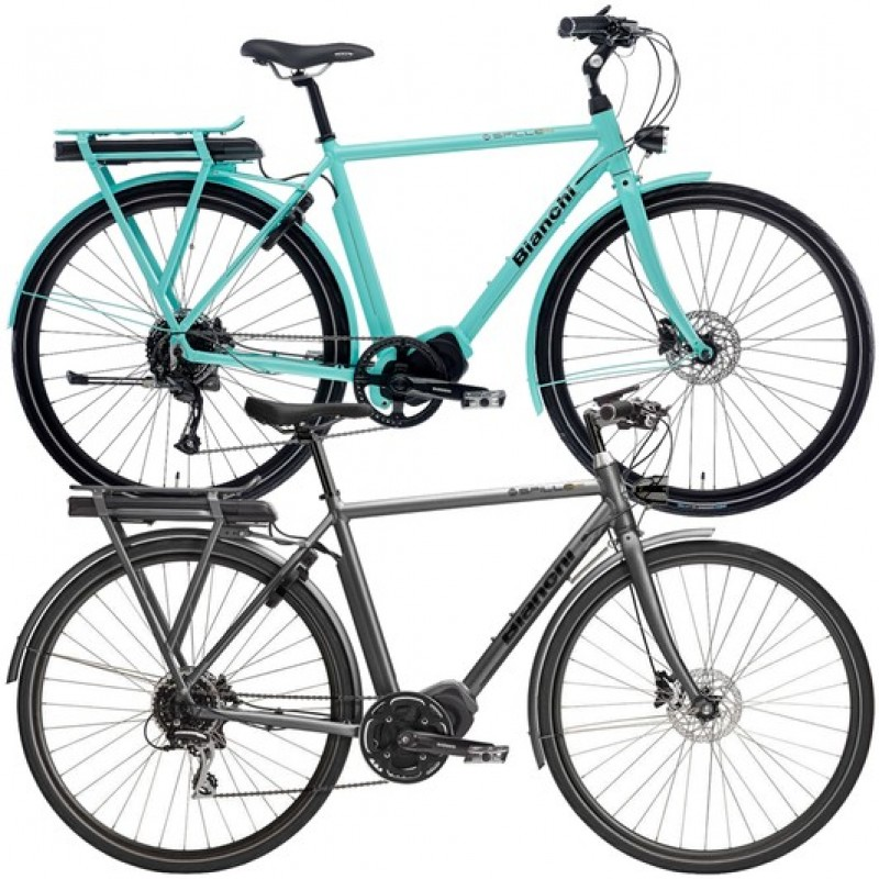 Bianchi E-Spillo Luxury Altus Disc Electric Hybrid Bike 2020