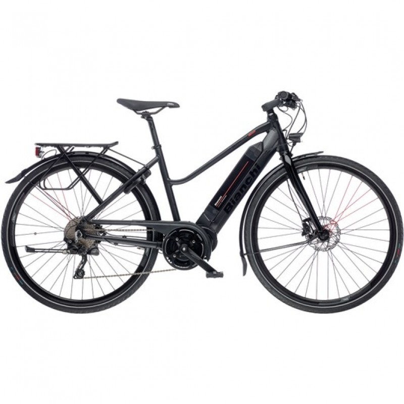 Bianchi E-Spillo Active Deore Womens Disc Electric Hybrid Bike 2020