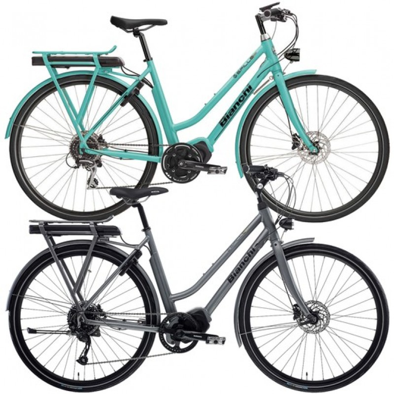 Bianchi E-Spillo Luxury Altus Womens Disc Electric Hybrid Bike 2020