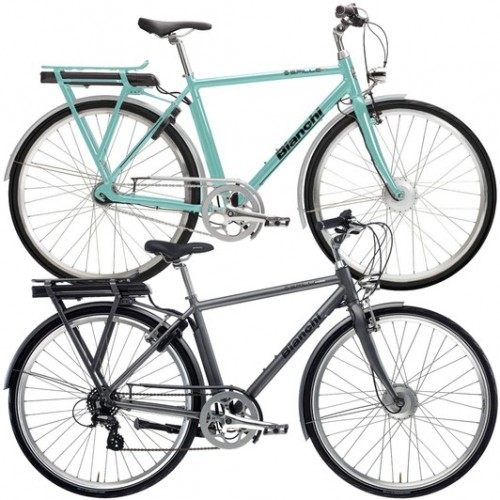 Bianchi E-Spillo Classic Altus Electric Hybrid Bike 2020