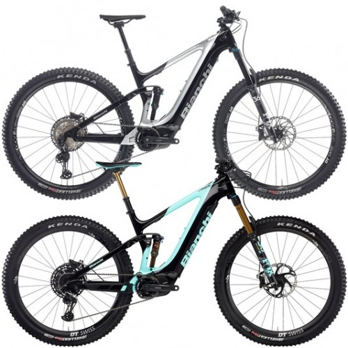 Bianchi T-Tronik Performer 9.1 X01 Eagle Electric Mountain Bike 2020