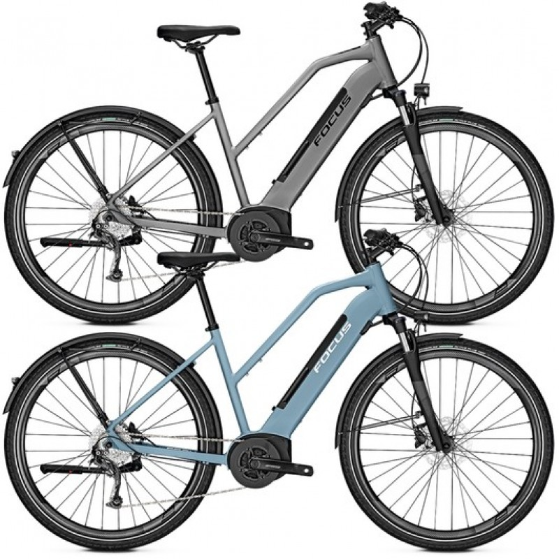 Focus Planet2 5.9 Womens Disc Electric Hybrid Bike 2020
