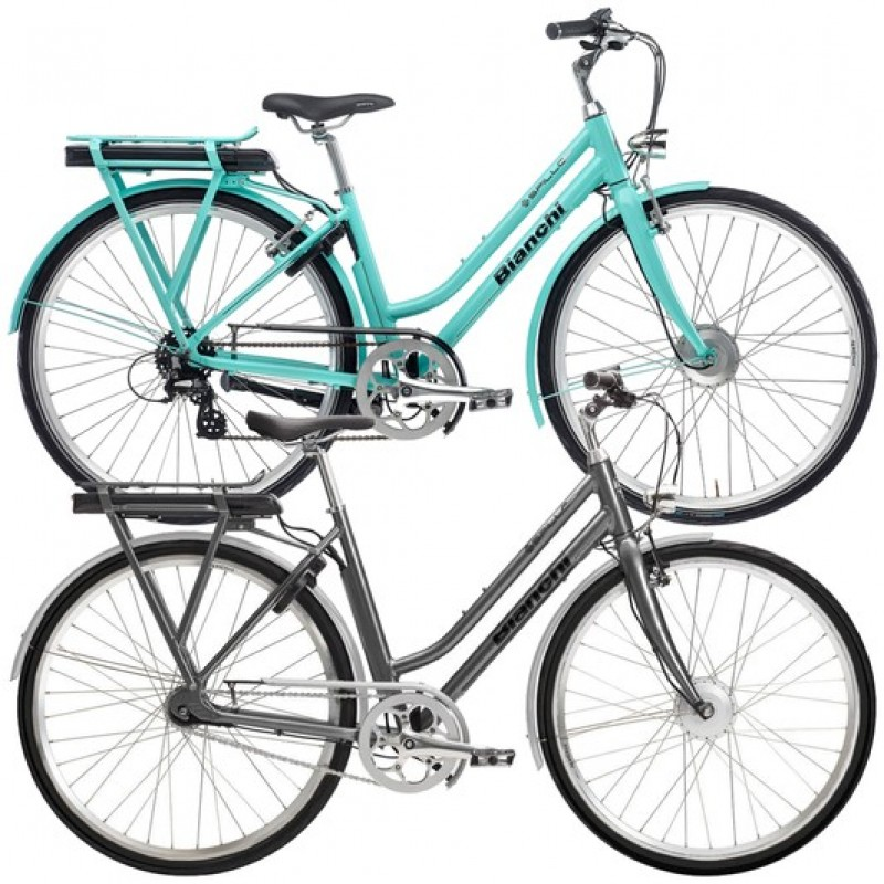 Bianchi E-Spillo Classic Altus Womens Electric Hybrid Bike 2020