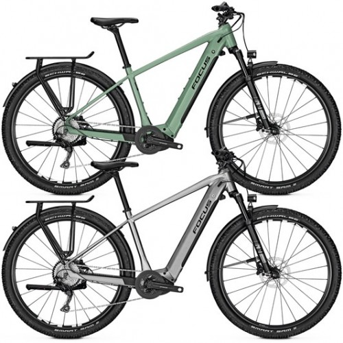 Focus Aventura2 6.8 Disc Electric Hybrid Bike 2020