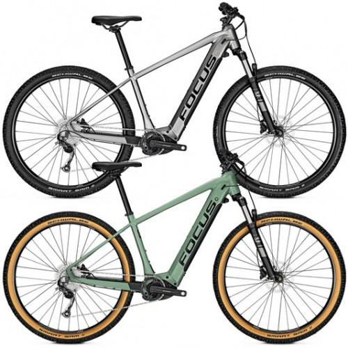Focus Jarifa2 6.7 Nine Hardtail Electric Mountain Bike 2020