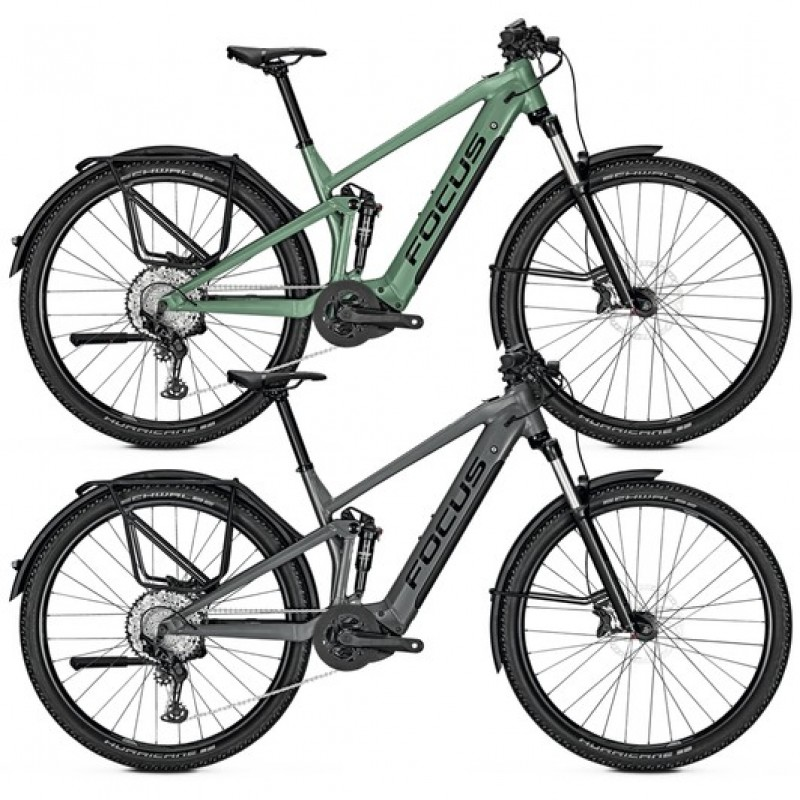 Focus Thron2 6.8 EQP Electric Mountain Bike 2020