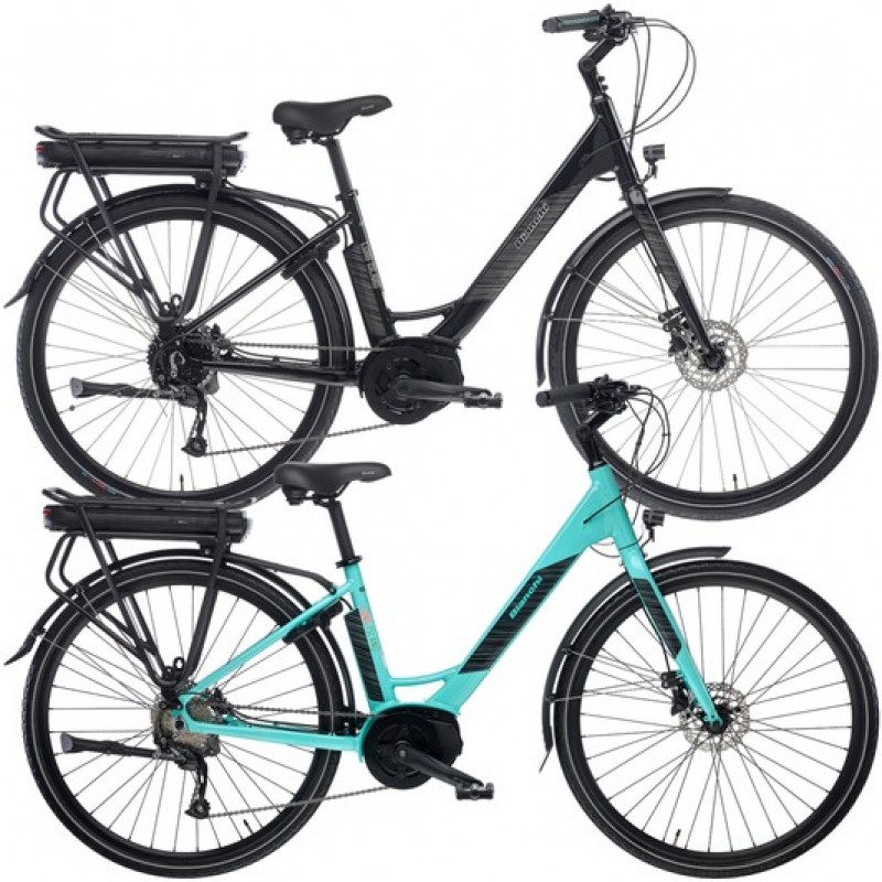 Bianchi Long Island Altus Womens Disc Electric Hybrid Bike 2020