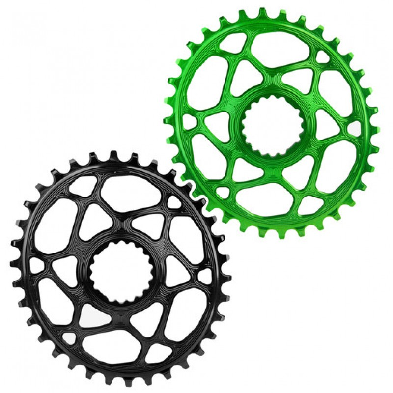 AbsoluteBLACK Cannondale Hollowgram Direct Mount MTB Oval Rings